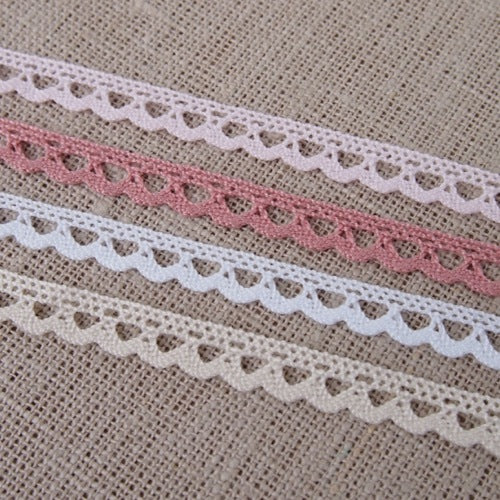 Mini Scalloped Crochet Trim - 7mm