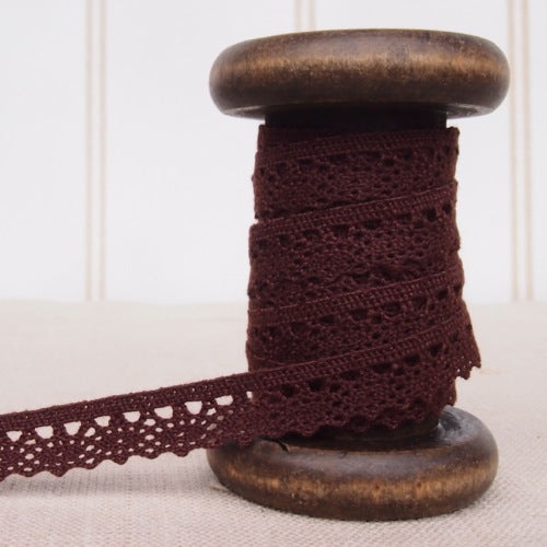 Mini Crochet Lace Trim - 10mm