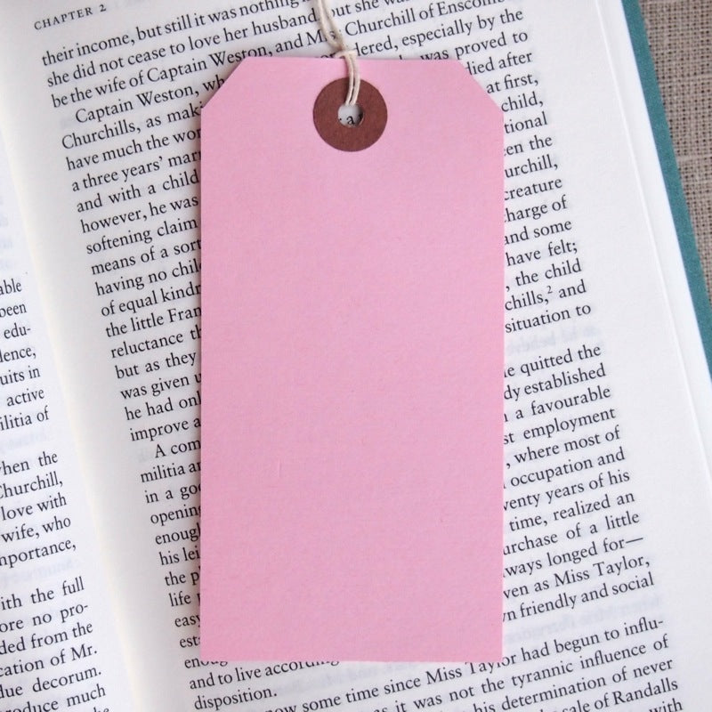 Pink Gift Tags