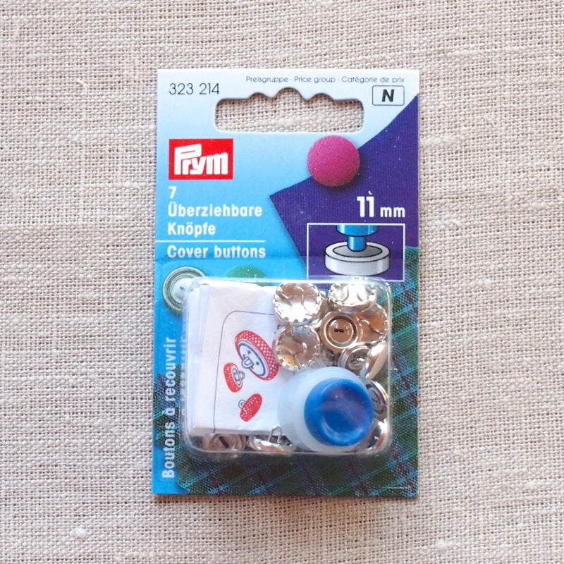 Self cover buttons with tool - 11mm