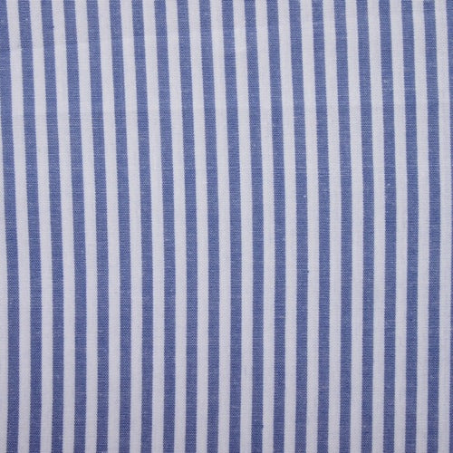 Cotton Vichy Extra Wide - Stripe - Indigo