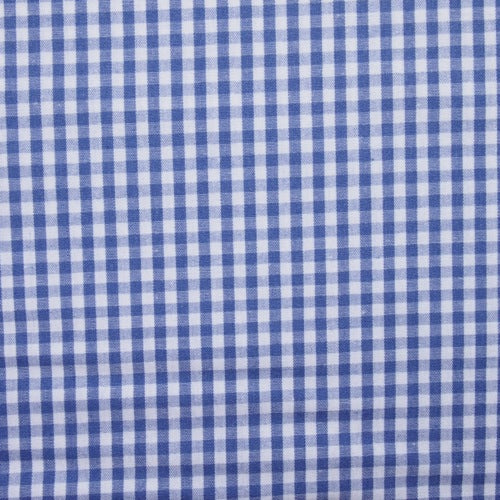 Cotton Vichy Extra Wide - Mini Gingham - Indigo