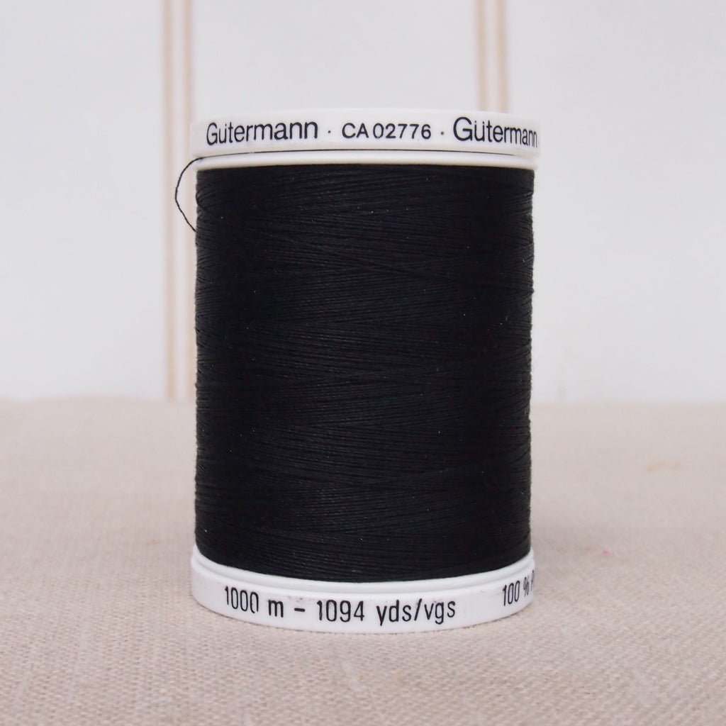 Gutermann Sew All Thread 1000m - Black