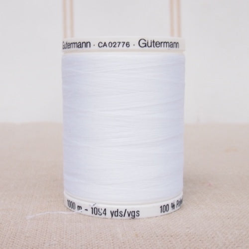 Gutermann Sew All Thread 1000m - White
