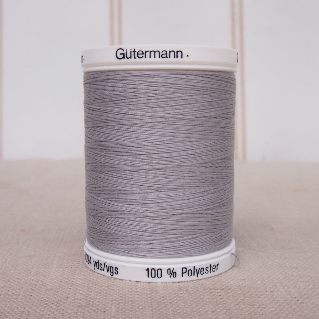 Gutermann Sew All Thread 1000m - Silver 38