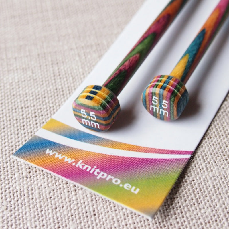 KnitPro Symfonie Wood Knitting Needles 30cm - 5.5mm