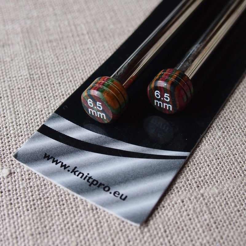 KnitPro Nova Metal Knitting Needles 30cm - 6.5mm