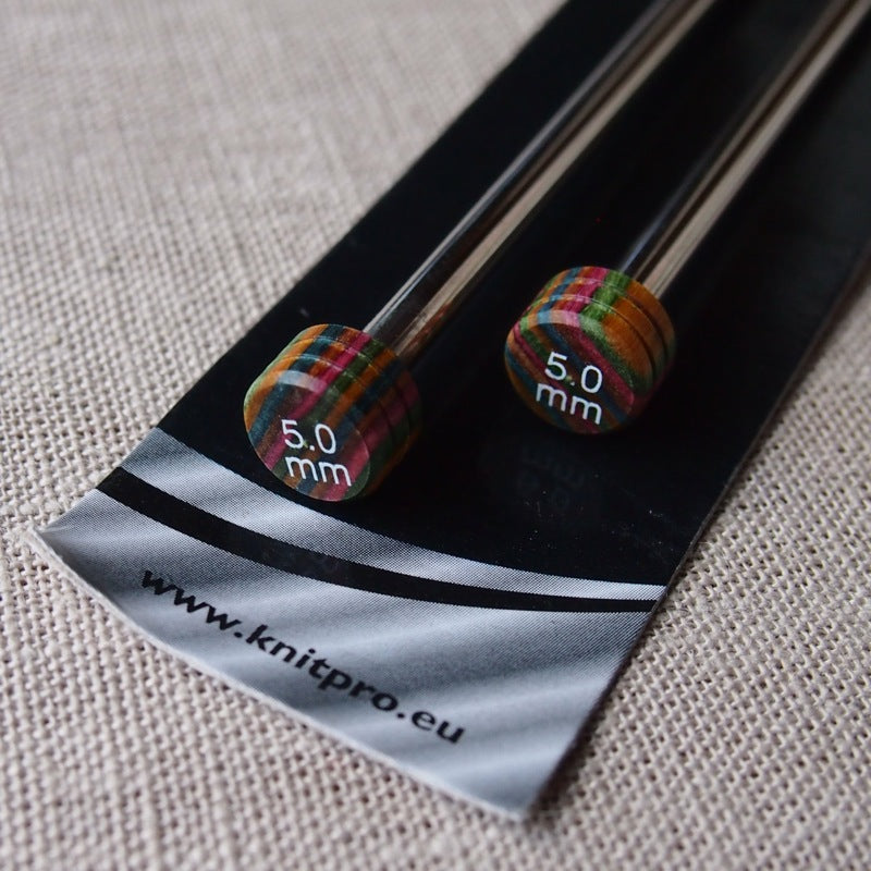 KnitPro Nova Metal Knitting Needles 30cm - 5mm