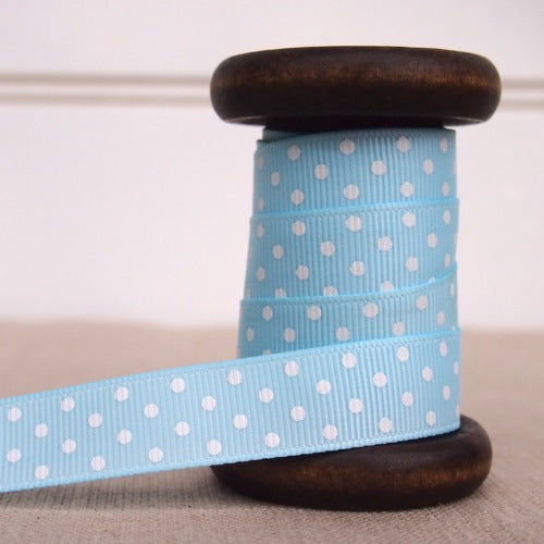 Polka Dot Ribbon - 16mm