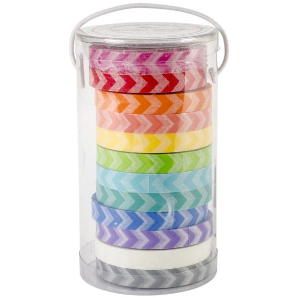 Doodlebug Designs Washi Tape - Chevron Collection