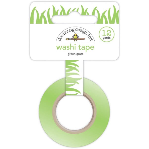 Doodlebug Designs Washi Tape - Green Grass