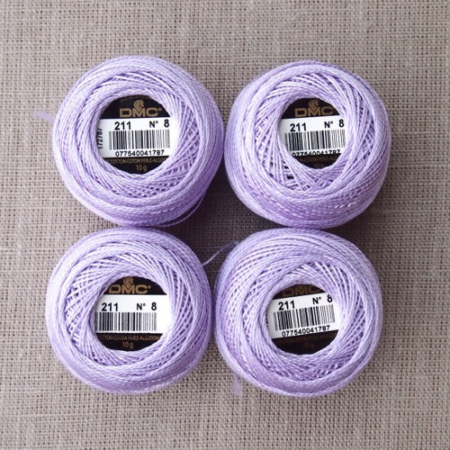 DMC Perle Cotton No 8