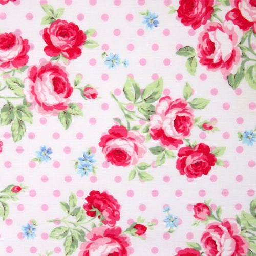 Lecien - Flower Sugar - Polka Dot Rose - Pink