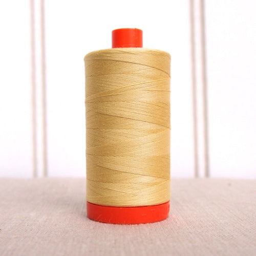 Aurifil 50wt Mako Cotton Thread