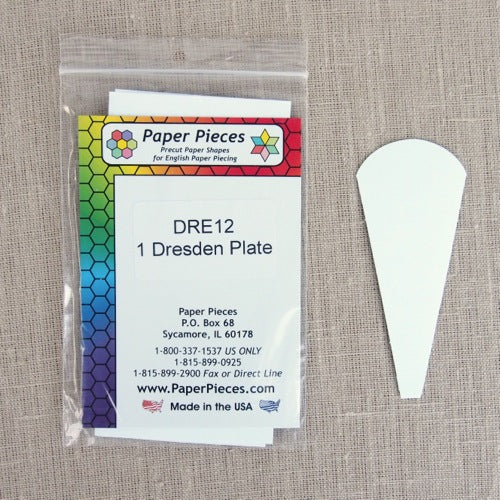 Paper Pieces - 12 inch Dresden Plate