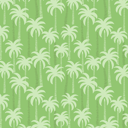 Tropicana - Lewis & Irene - Palm Trees Green