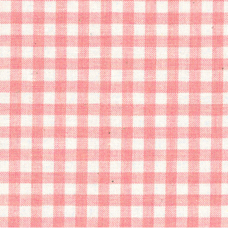 Lecien Yarn Dyed Gingham - Pink