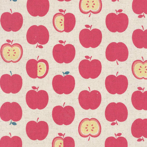 Sevenberry Apples Linen - Pink