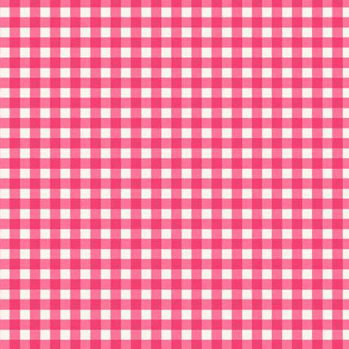 Tea Party - Makower - Pink Gingham