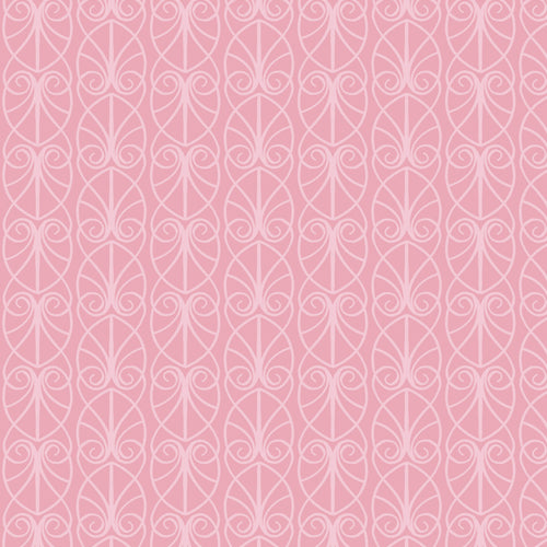 April Showers - Lewis & Irene - Parisian Fretwork - Pink