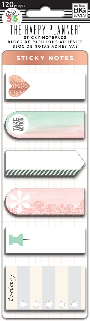 MAMBI Create 365 - Sticky Notes - Rose Gold