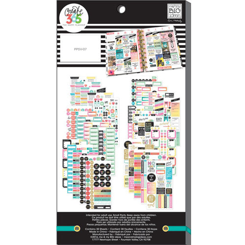 MAMBI Create 365 - Bumper Value Pack Stickers - Work It Out