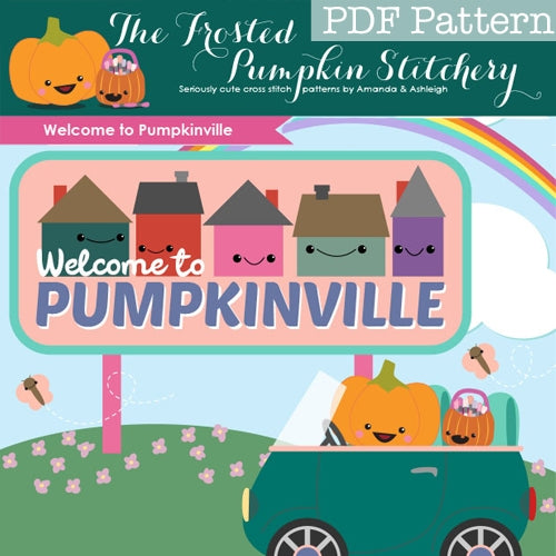 Welcome to Pumpkinville - PDF PATTERN DOWNLOAD