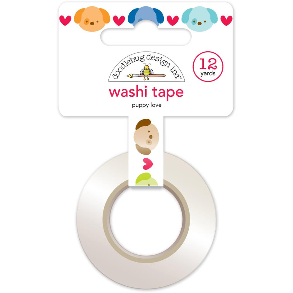 Doodlebug Designs Washi Tape - Puppy Love