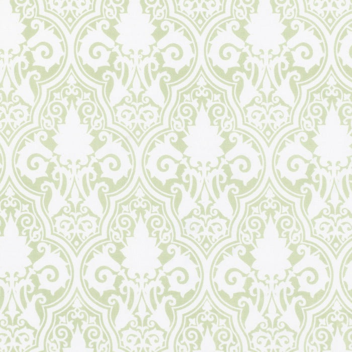Sunshine Rose - Green Sunshine Damask
