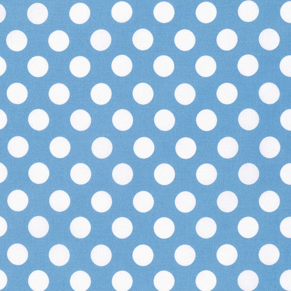Sadie's Dance Card - Blue Big Dot