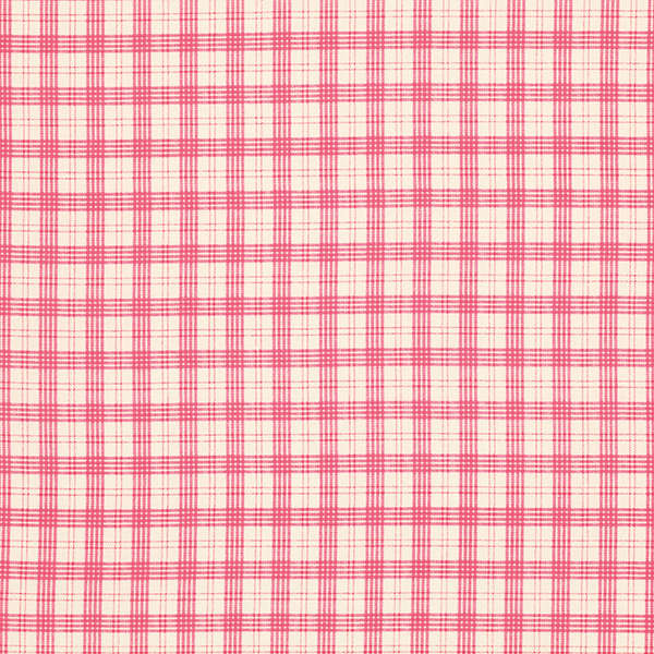Rosewater Summer Plaid - Popsicle
