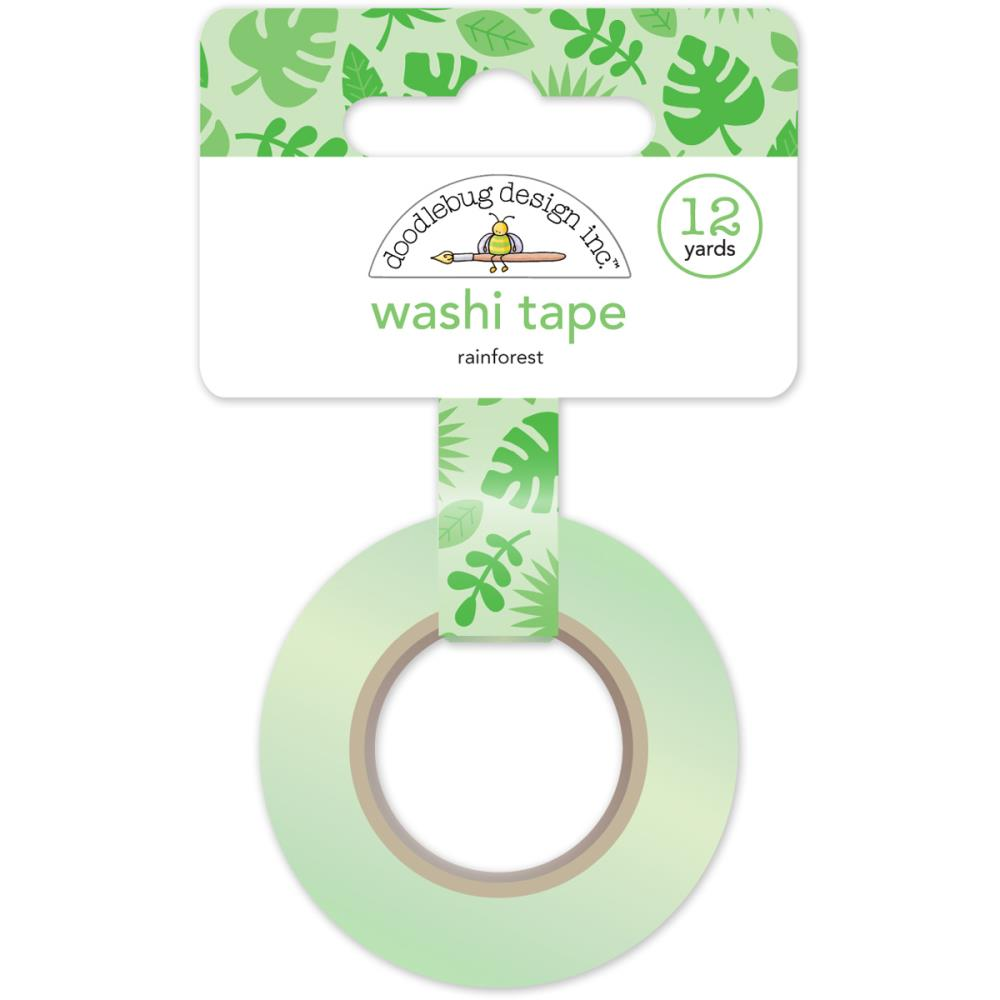 Doodlebug Designs Washi Tape - Rainforest