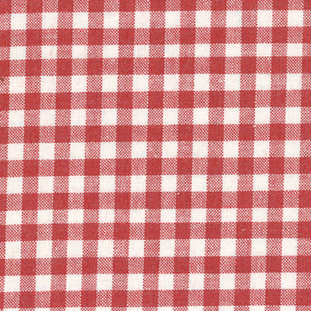 Lecien Yarn Dyed Gingham - Red