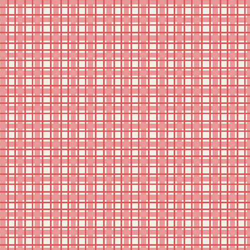 Sunny Days - Red Sunny Plaid