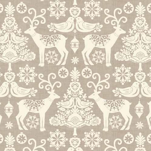 Scandi - Makower - Reindeer Grey