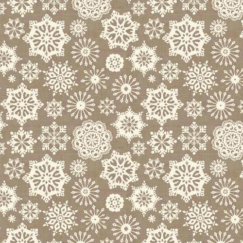 Scandi - Makower - Snowflakes Grey