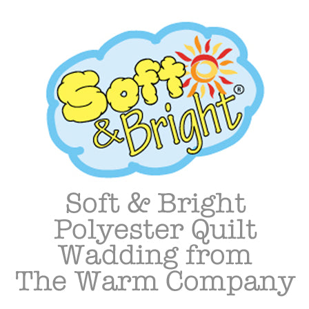 Soft & Bright Polyester Quilt Wadding
