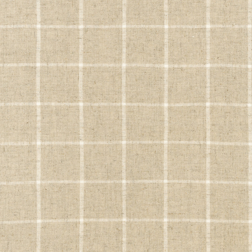 Robert Kaufman Essex Linen - Yarn Dyed Classic Wovens - Natural Check