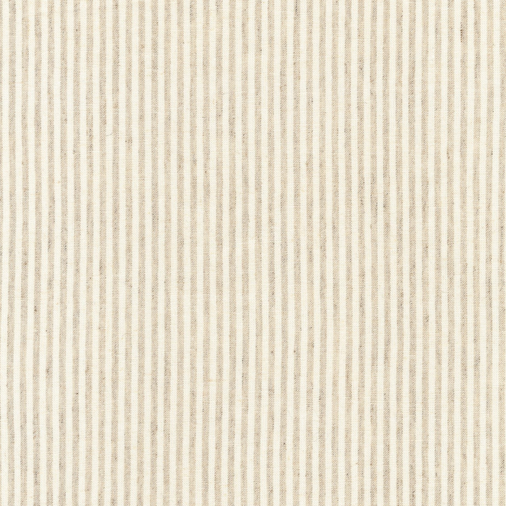 Robert Kaufman Essex Linen - Yarn Dyed Classic Wovens - Natural Stripe