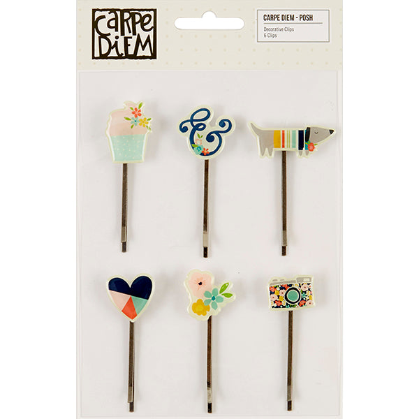 Carpe Diem Posh - Decorative Clips
