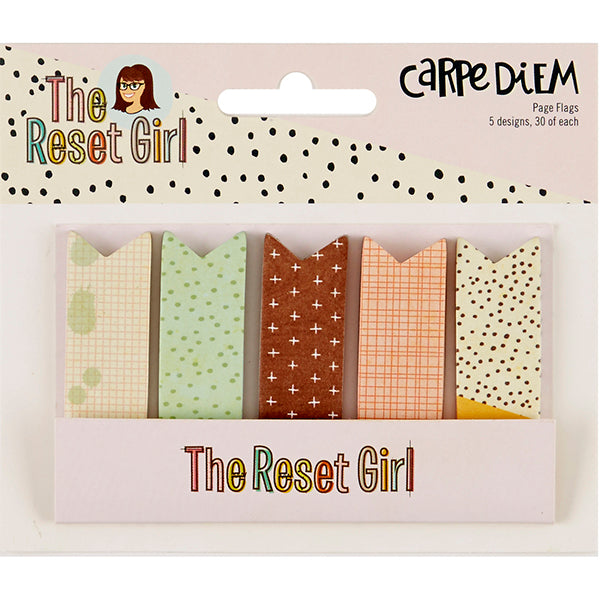 Carpe Diem Reset Girl - Page Flags
