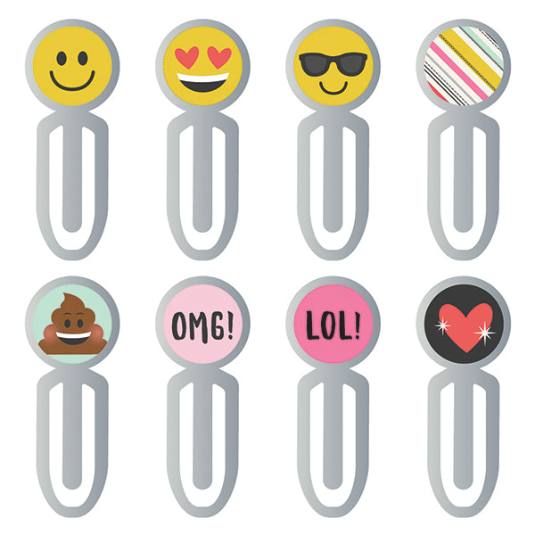 Carpe Diem - Metal Clips - Emoji Love