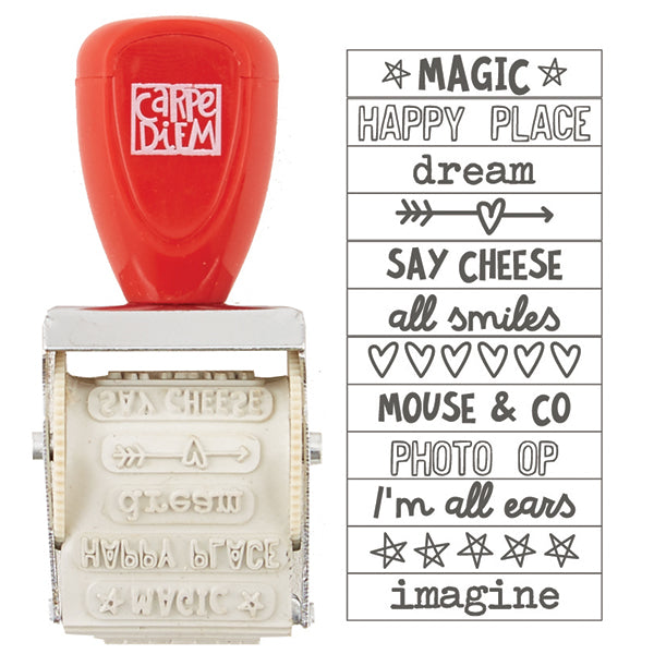 Carpe Diem - Roller Stamp - Say Cheese