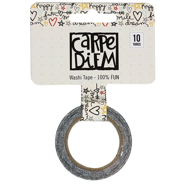 Carpe Diem - Washi Tape - 100% Fun
