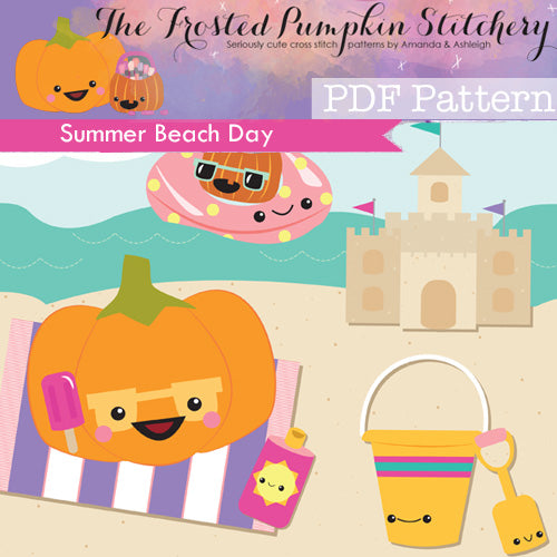 Summer Beach Day - PDF PATTERN DOWNLOAD