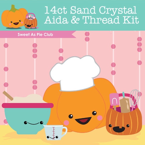 KIT - Sweet As Pie Club - 14ct Aida & Threads