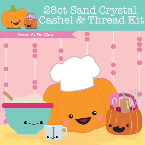 KIT - Sweet As Pie Club - 28ct Cashel & Threads