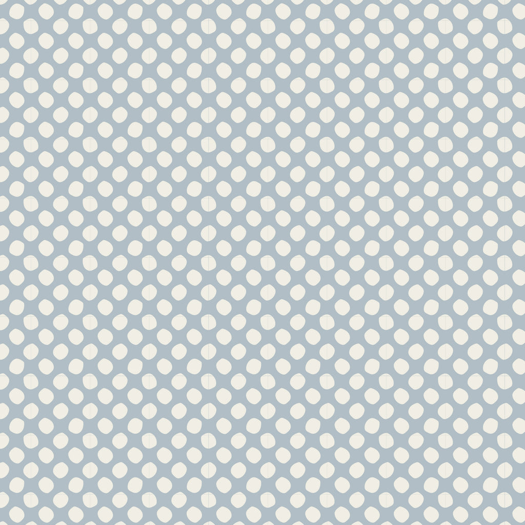 Tilda Classic Basics - Paint Dots Blue