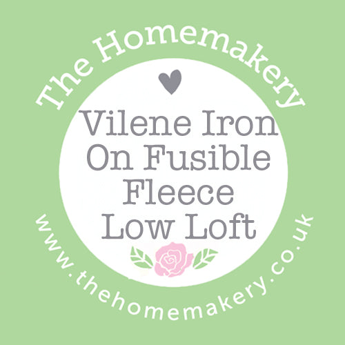 Vilene Iron On Fusible Fleece Low Loft