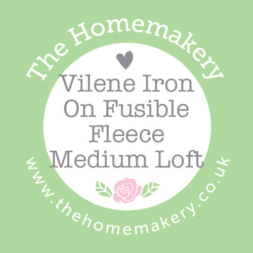 Vilene Iron On Fusible Fleece Medium Loft